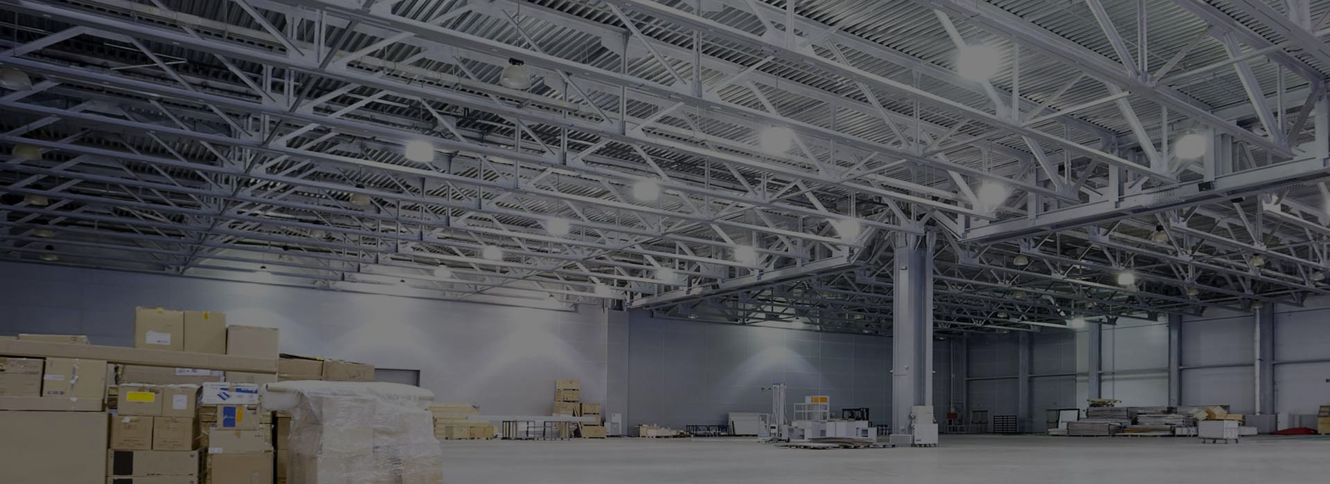 Industrial Warehouse Lighting Set Up - TELCS Lighting Design & Consultancy