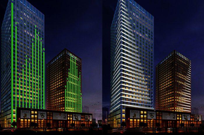 Highrise Facade Lighting - tianjin China